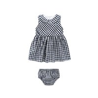 Wholesale Doll Collar Dress Black - Baby girls outfits 2017 new Babies black white plaid doll collar princess vest dress+briefs 2pc clothing toddler kids classic clothing T4084