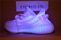 Wholesale Cheap White Lights - trainers350 With Box 2017 Cheap Wholesale Mens shoes Running Shoes Boost 350 V2 SPLY-350 STEGRY BELUGA SOLRED best 9654 zebra colorpackaging