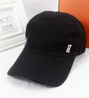 Wholesale fashionable hats - 14 colors optional! Summer high quality canvas baseball cap fashionable casual cap cap fashion brand hat with box