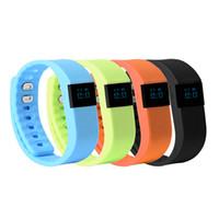pulsera bluetooth achat en gros de-Imperméable à l'eau IP67 Smart bracelets TW64 bluetooth fitness activité tracker smartband pulsera bracelet montre pas fitbit flex fit bit