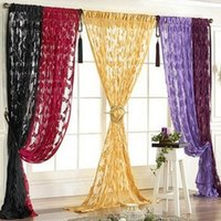 Wholesale Door Curtains Butterfly - High Quality Elegent Butterfly Tassel String Curtain Window Door Room Divider Valance Wedding DIY Home Decor 1Pc JI0243
