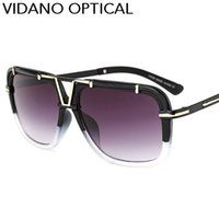 Wholesale Famous Optical - Vidano Optical New Arrival Casual Smart Pilot Sunglasses For Men & Women Classic Summer Designer Hot Famous Sun Glasses Gradient UV400