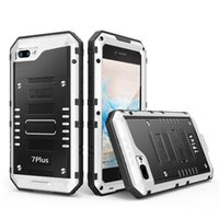 ingrosso telefono cellulare ip68 impermeabile-IP68 Wrath armatura in metallo alluminio antiurto sporcizia, custodia impermeabile per iPhone 4 4S 5 5S 5c 6 6 s 6 plus