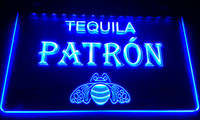 Wholesale Tequila Bar Signs - LS029-b Patron Tequila Beer Bar Neon Light Sign Decor Free Shipping Dropshipping Wholesale 6 colors to choose