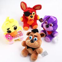 Wholesale S4 Teddy - XS Teddy Bear's Five Nights At Midnight Harem Five Nights At Freddy 's4 Plush Toy Children's Toys Wholesale