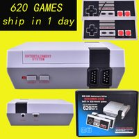 NO No NO 2017 TV Handheld Game Console Mini Video Game Player Console For NES Windows PC Mac with 620 Built-in Games With Box OTH733