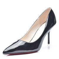 Wholesale Sexy Silver Prom Heels - New Fashion high heels women pumps thin heel classic white red nede beige sexy prom wedding shoes
