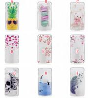 Wholesale Prime Fish - Skull Fish Bear Soft TPU Case For Samsung J7 Prime On7 2017   J5 Prime ON5 2017   A3 A5 2017 J3 Pro Floral Fashion Flower Phone Cover 100pcs