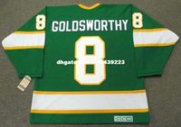 Compra Maglie Vintage Minnesota-vendita all'ingrosso personalizzato Throwback Mens BILL GOLDSWORTHY Minnesota North Stars 1967 CCM Vintage Vintage Retro Hockey Jersey