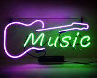 Wholesale neon sign music resale online - New HIGH LIFE Neon Beer Sign Bar Sign Real Glass Neon Light Beer Sign JT ME guitar MUSIC X8