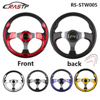 Wholesale Drift Steering - 320MM 13 Inch MOMO Racing Car PVC Modification Mini Drifting Steering Wheel RS-STW005