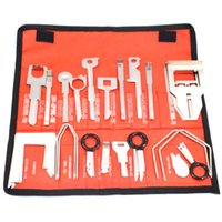 Wholesale car audio repairs - 38 Pcs Car Audio Stereo CD Player Removal Repair Tool Kits For Benz Spiffy