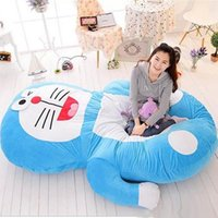 Wholesale Double Kids Sofa - Japan Anime Doraemon Beanbag Plush Soft Bed Mattress Tatami Sofa Double Size 200cm*150cm Kids Present