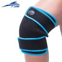 Wholesale Tourmaline Knee Pads - Wholesale- Tourmaline Self-heating Magnetic Therapy Knee Pads Kneepad Knee Support Brace Protector Sleeve Patella Guard Posture Corrector