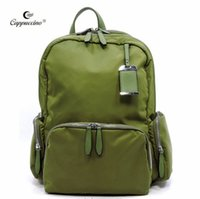 Barato Novo Laptop Atacado China-Cappuccino New Classical China Wholesale Nylon Outdoor Traveling Laptop Backpack School Bag para Meninos e Meninas