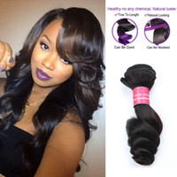 Wholesale Mocha Loose Wave - Virgin Brazilian Loose Wave 4Bundles Deal Brazilian Human Hair Extension Mocha Hair Products Grade 7A Brazilian Loose Wave Hair Weave