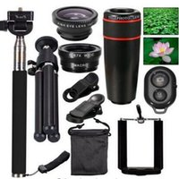 Cheap Universal cell phone camera lens Best Wide-Angle Len most mobile phone Telephoto Len