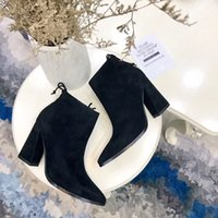 Wholesale Hight Heels Boots - 2017.9.29 09 new hot fashion cow leather inside come whith tags top quality women casual boot heel hight 9cm 35-39