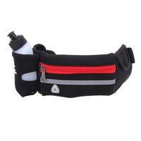 Wholesale Excercise Woman - Wholesale- Waterproof Excercise Fit Mobile Smartphone Outdoor Sports Women Hiking Waist Bag Belt Fanny Bottle Portable Bag Cash Bag