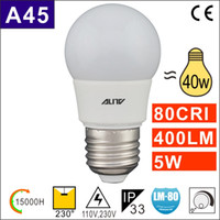 1W 2W 3W 4W 5W E27 E26 E14 G45 P45 LED Birne A45 LED Lampe 80CRI 0.9PF Dimmable