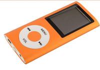 base maestra al por mayor-reproductor portátil de música MP4 reproductor de mp4 1.8 pulgadas lcd Soporte de pantalla Micro SD tarjeta grabadora de FM