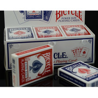 Wholesale Bicycle Playing Cards Free Shipping - Blue Red Bicycle Poker Regular Bicycle Playing Cards Rider Back Standard Decks Magic Trick Paper Cards With Free Shipping