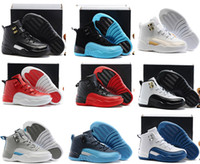 Wholesale Babys Boys - Sale 2017 Cheap New Air Retro 12 Kids basketball shoes for Boys Girls sneakers Children Babys 12s running shoes Size 11C-3Y
