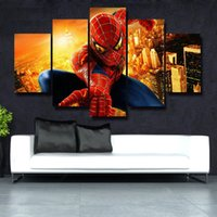 5 Pcs / Set Modern Abstract Wall Art Painting Canvas Painting para Sala de estar HomeDecor Picture Beautiful picture # 108
