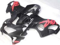 99 honda cbr großhandel-Schwarze Verkleidungen für HONDA CBR600F4 1999-2000 CBR 600F4 CBR600 F4 600 F4 99 00 1999 2000 Verkleidungskit # s82y3 versandkostenfrei