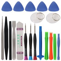 Wholesale Tool Kit For Mobile Repair - 20 in 1 Mobile Phone Repair Tools Set Kit Pry Opening Tool Screwdriver for iPhone iPad Samsung Cellphone Hand Repair Tools Set
