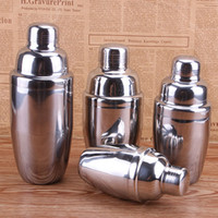 Wholesale Wholesale Cocktail Mixers - New Stainless Steel Boston Shaker Cocktail Shaker Cocktail Mixer Wine Martini Drinking Boston Style Shaker Party Bar Tool WX-C24