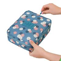Wholesale Leopard Makeup Kit - Multi-function Makeup Cosmetic Bag Toiletry Travel Kit Organizer makeup bag