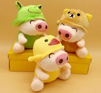 Wholesale Mcdull Pig Wholesale - Hot sale Make up pig McDull doll creative plush toy doll