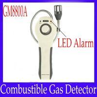 Wholesale combustible gas alarm detector - Wholesale- Combustible Gas Detector GM8800A with LED alarm indication 2pcs lot free shipping