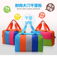 Wholesale hot selling children bags for sale - Group buy Professional Unisex Swimming Bag Combo Dry Wet Handbag Big Capacity Children Beach Swimsuit Storage Waterproof Package Hot Sell gb J1