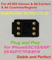 Wholesale Free T Mobile - Free DHL Plug and Play NEWEST BLACKSIM 4G Unlock all IOS Version for US T-mobile,Sprint, Fido,DoCoMo & other carriers LTE4G GPPLTE RSIM