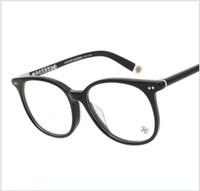 Wholesale Computer Glasses Sale - Hot Sale Brand Design Plain Glasses Men Women Eyeglasses Frame Computer Glasse Optical Glasses oculos de grau MOTHE RFUNGIS 52mm with case