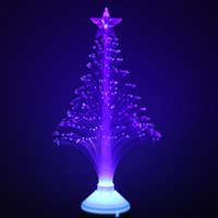 Wholesale Optical Stages - Wholesale-Tanbaby 3W E27 Blue color Optical fiber Christmas Tree mini led stage light for home entertainment AC85-265V decoration