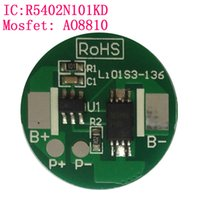 Wholesale 1s Battery - Wholesale- 10PCS LOT Protection Circuit Module 1S 2.5A BMS PCM PCB Battery Protection Board For 3.7V Li-ion lipo Battery Cell Pack
