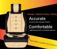 Wholesale Luxury Seat Covers For Cars - Luxury Quality XA001 Multifunction Massage Heating Magnetic Therapy Car Seat Cover for Winter Four Seasons Car Seat Cushion