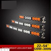 "Wholesale led light bar truck 32 - 1x 10W Cree Chips Curved LED Work Light Bar 120W 150W 180W 210W 240W 270W 300W Offroad 4WD 4x4 9-60V Super Brght 22 27 32 38 42 48 54"" Truck"