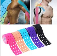 Elastisches Therapeutisches Band Kaufen -1 Roll Breathable Upgrade SportsTape Punch Muskeln Sport Care Elastische Physio Therapeutic Tape Adhesive Hohe Qualität