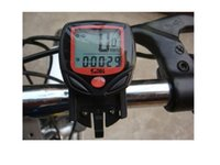 Wholesale Lcd Multi Function Bike - Multifunctional Digital 14 Functions Waterproof LCD Sunding Wired Bike Wheel Bicycle Computer Cycle Odometer Speedometer SD-548B