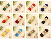 Wholesale Korean Scarves Wholesale - 2017 high quality autumn and winter new Korean version of pure color scarves, gift scarves, hot cotton scarf wholesale free shipping