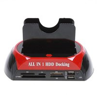 Wholesale 2.5 sata enclosure for sale - Group buy quot quot SATA IDE Double Dock HDD Docking Station e SATA Hub External Storage Enclosure Parts free DHL