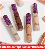 Wholesale Media Skins - New tarte Shape Tape Concealer tarte contour 12 colors Fair Light Light medium Medium Tan Light sand 10ml