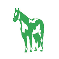 Wholesale car body parts for sale - Indian Horse Mustang Jdm Vinyl Decal Car Windshield Window Glass SUV Door Bumper Auto Parts Scratches Motorcycles Wall