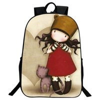 Wholesale Cartoon Bags For Kids Backpack - 2017 Cartoon Children School Bags For Girls Backpacks Princess Printing Kindergarten Book Bag Kids Bag Teenagers Mochila Escola