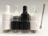 Wholesale Evod Original - Original Glass ceramic wax atomizer tank vaporizer kit fast heating with ceramic coil for Ego Evod Electronic Cigarette
