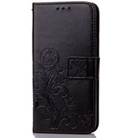 Wholesale galaxy note3 flip cover for sale - Four Leaf Clover Case for Samsung Galaxy Note2 Note3 Note4 Note5 Note6 Note7 cover with Flip Wallet Case Phone Coque Hoesjes PU Leather